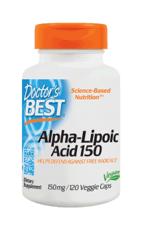 ドクターズベスト アルファリポ酸 150mg 120ベジカプセル