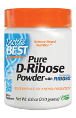 Doctor's Best バイオエネルギーリボースを含む純粋なD-リボースパウダー 260 ml