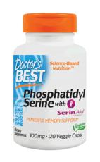 Doctor's Best ホスファチジルセリン 100 mg 120 ベジカプセル