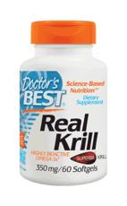 Doctor's Best リアル オキアミ 350 mg 60ソフトジェル