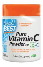 Doctor's Best Q-C入りピュアビタミンCパウダー 免疫システムをサポート 260 ml