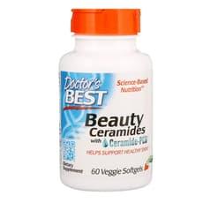 Doctor's Best セラミド-PCD配合美容セラミド 60 ベジソフトジェル