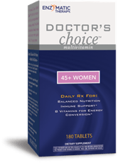 Enzymatic Therapy ドクターズチョイス45+女性マルチビタミン180錠
