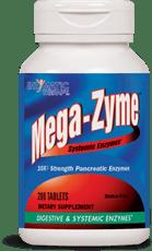 Enzymatic Therapy メガザイム、システミクエンザイムズ、200錠