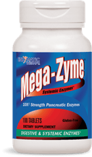 Enzymatic Therapy Mega-Zyme 100 Tablets
