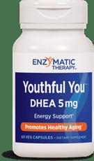Enzymatic Therapy DHEA 5 mg、60ベジカプセル