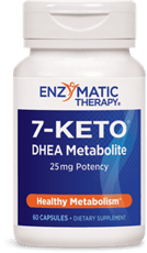 Enzymatic Therapy 7-ケトDHEAメタボールライト60カプセル