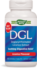 Enzymatic Therapy DGL 脱グリチルリチン リコリス エキス リコリスフレーバー 100チュアブル錠