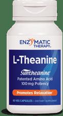 Enzymatic Therapy L-テアニン ストレス 60 ベジカプセル