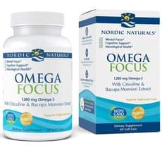 Nordic Naturals オメガフォーカス 1,280 mg 60 ソフトジェル