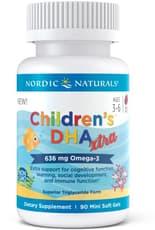 Nordic Naturals 子供DHAエクストラ 90ソフトジェル