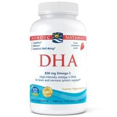 Nordic Naturals DHA 830 mg 180 ソフトジェル