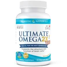 Nordic Naturals Ultimate Omega 2x Teen 60 Softgels