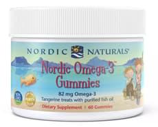 Nordic Naturals オメガ3 グミ タンジェリン風味 グミ 60粒
