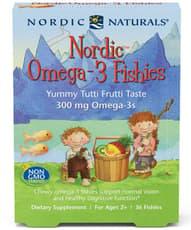 Nordic Naturals Nordic オメガ3 ジェリーヤミー・トゥーティー・フラッティー250 mg 36 個