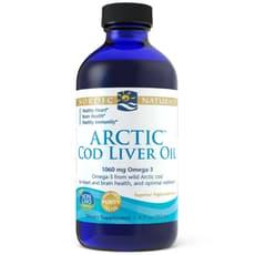 Nordic Naturals 北極タラ肝油 味付けなし 237 ml