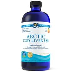 Nordic Naturals 北極タラ肝油 オレンジ風味 473 ml