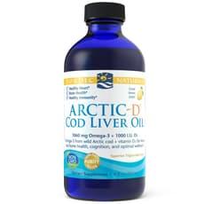 Nordic Naturals アーティックD タラ肝油 レモン風味 237ml