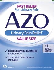 アゾ 泌尿器痛の緩和 30タブレット