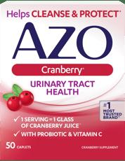アゾ 尿路健康 クランベリー味 50 カプレット