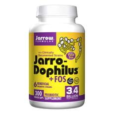 Jarrow Formulas ジャロードフィラス +FOS プロバイオティクス  300 ベジカプセル
