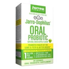 Jarrow Formulas 経口プロバイオティックナチュラルグリーンアップル味 30カプセル