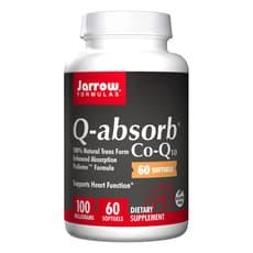 Jarrow Formulas Q-アブソーブ コエンザイム-Q10 100 mg 60 ソフトジェル