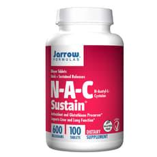 Jarrow Formulas N-A-C サステイン 600 mg 100 錠