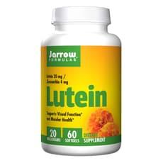 Jarrow Formulas ルテイン20 mg 60ソフトジェル
