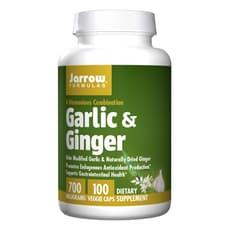 Jarrow Formulas ニンニク&生姜 700 mg 100ベジカプセル