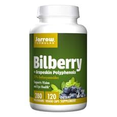 Jarrow Formulas ビルベリープラスグレープスキンポリフェノール 280 mg 120ベジカプセル
