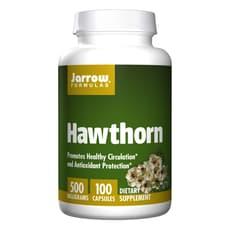 Jarrow Formulas セイヨウサンザシ 500 mg 100 カプセル
