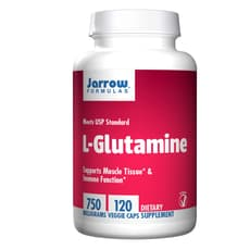 Jarrow Formulas L-グルタミン 750 mg 120ベジカプセル