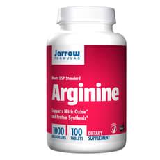 Jarrow Formulas アルギニン 1,000 mg 100錠