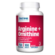 Jarrow Formulas アルギニン オルニチン 750 mg 100錠