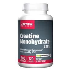 Jarrow Formulas クレアチン モノハイドレート キャプス 800 mg 120 カプセル