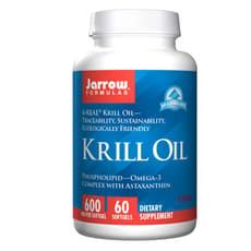 Jarrow Formulas オキアミ油 600 mg 60ソフトジェル