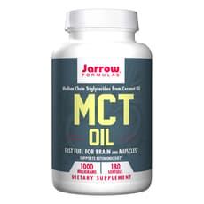 Jarrow Formulas MCTオイル 1,000 mg 180ソフトジェル