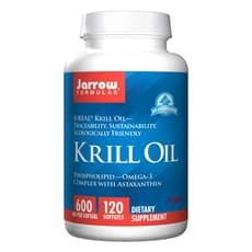 Jarrow Formulas オキアミ油 600 mg 120ソフトジェル