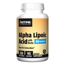 Jarrow Formulas アルファリポ酸 ビオチン配合 100 mg 90 カプセル