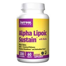 Jarrow Formulas αリポ脂肪サステイン 300 mg 60錠
