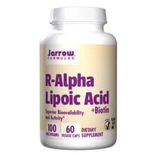 Jarrow Formulas R-アルファリポ酸  100 mg 60 ベジカプセル
