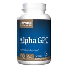 Jarrow Formulas アルファ GPC 300 mg 60 ベジカプセル