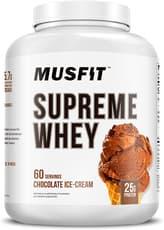 マスフィット シュプリーム ホエイ プロテインパウダー チョコレートアイスクリーム 60杯分 2.27kg