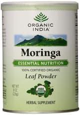 Organic インド有機モリンガ葉粉末 226g