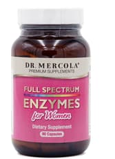 Dr. Mercola Full Spectrum Enzymes for Women 90 Capsules