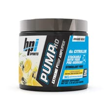 BPI Sports Pump ポンプHDレモネード 219g