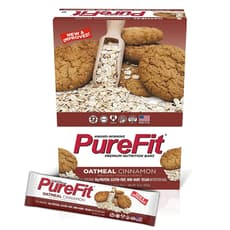 Purefit Nutrition Oatmeal Cinnamon 15 Bars