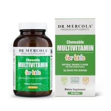 Dr. Mercola 子供用チュアブルマルチビタミン 60錠