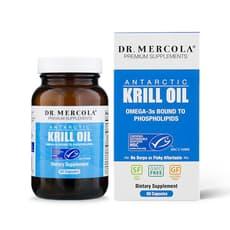 Dr. Mercola 南極クリルオイル 60カプセル